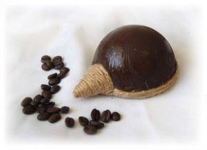 Ежик из кофейных зерен10