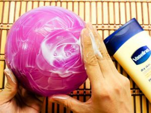 как делать папье маше тарелку 4