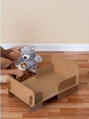 Как сделать кровать для куклы4