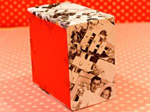 как красиво украсить коробку 2