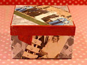 как красиво украсить коробку 4