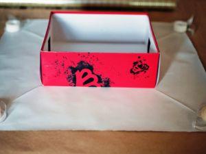 как красиво украсить коробку 7
