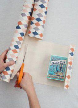 как сделать пакет из бумаги11