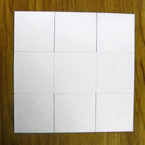 Как сделать из бумаги корзинку9