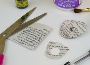 Как сделать кольцо из бумаги11