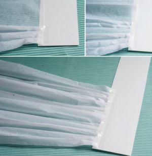 Как сделать колпак из бумаги7