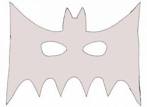как сделать маску бэтмена1