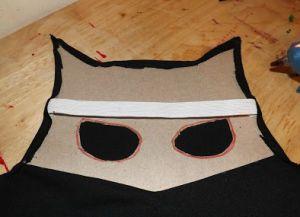 как сделать маску бэтмена из картона2