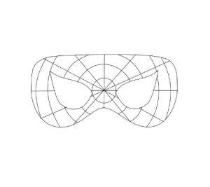 Как сделать маску человека-паука6