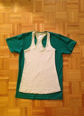 Как сделать майку из футболки17