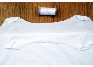 Как сделать майку из футболки4