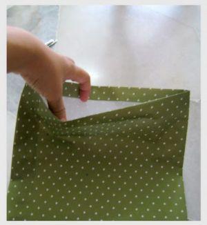 как сделать пакет из бумаги4