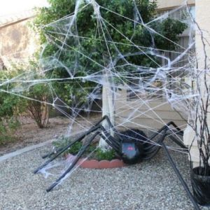 Как сделать паутину своими руками14