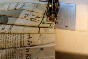 Как сделать платье из газет24