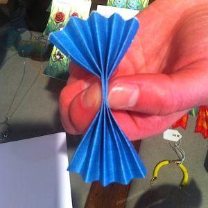 Как сделать птицу из бумаги3