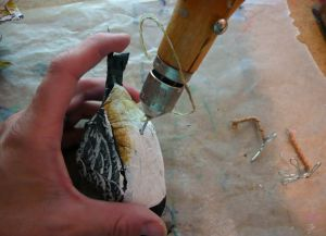Как сделать птицу из бумаги34