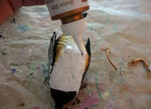 Как сделать птицу из бумаги35