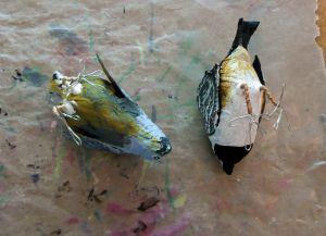 Как сделать птицу из бумаги37
