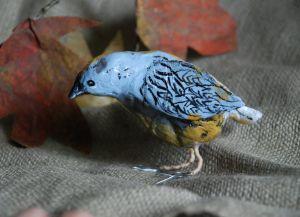 Как сделать птицу из бумаги39