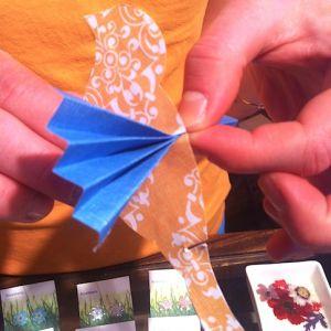 Как сделать птицу из бумаги4