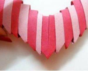 Как сделать сердце из модулей62