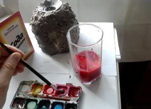 Как сделать вулкан своими руками14