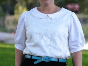 как сшить блузку самой18