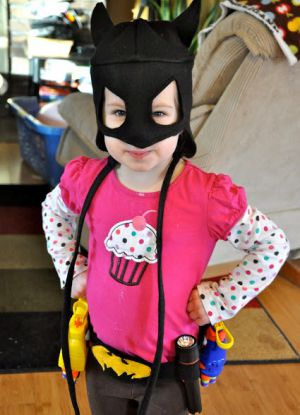 как сшить маску бэтмена 11