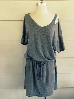 Сшить домашнее платье без выкройки быстро