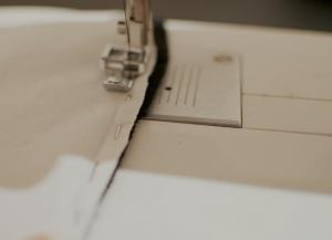 Как сшить юбку с воланами5