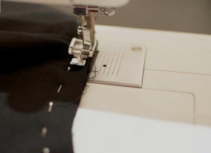 Как сшить юбку с воланами8