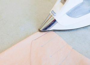 Как сшить юбку в складку12