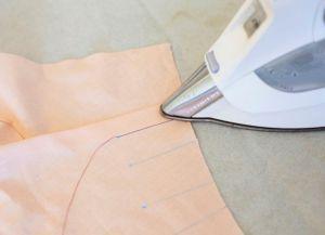 Как сшить юбку в складку13