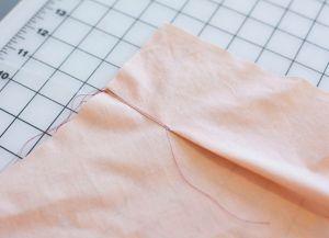 Как сшить юбку в складку14