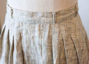 Как сшить юбку в складку15