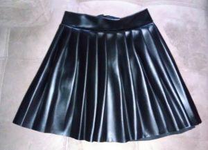 Как сшить юбку в складку7