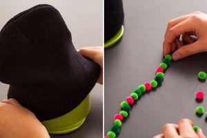 Как украсить вязаную шапку8