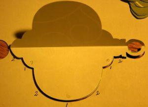 как сделать бумажный фонарик необычный3