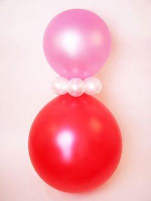 Как из воздушных шаров сделать клоуна из 32