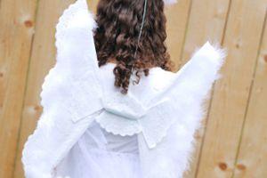 костюм ангела своими руками5