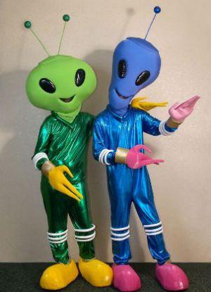Костюм инопланетянина своими руками5