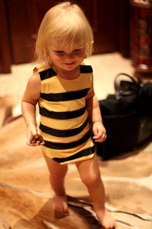Костюм пчелки своими руками6