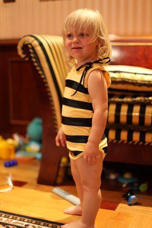 Костюм пчелки своими руками8