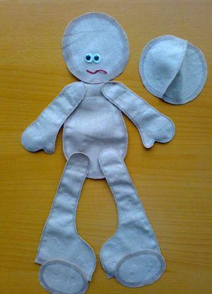 Кукла Снежка - мастер-класс3