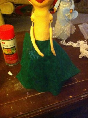 Кукла из бутылки своими руками44