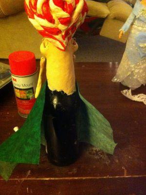 Кукла из бутылки своими руками46