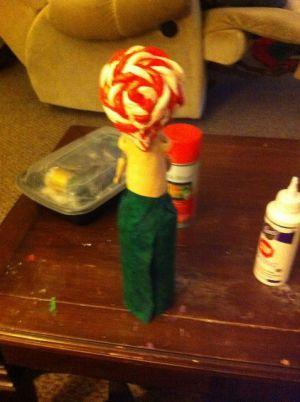 Кукла из бутылки своими руками48