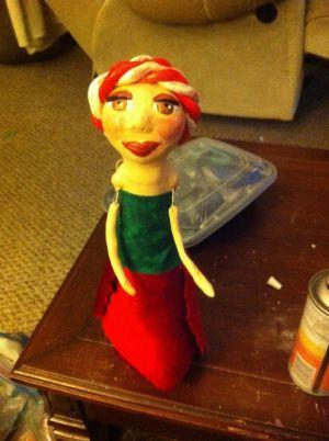 Кукла из бутылки своими руками53