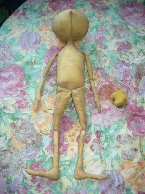 Кукла тыквоголовка – мастер-класс10