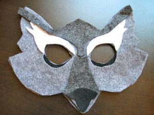 маска волка своими руками11